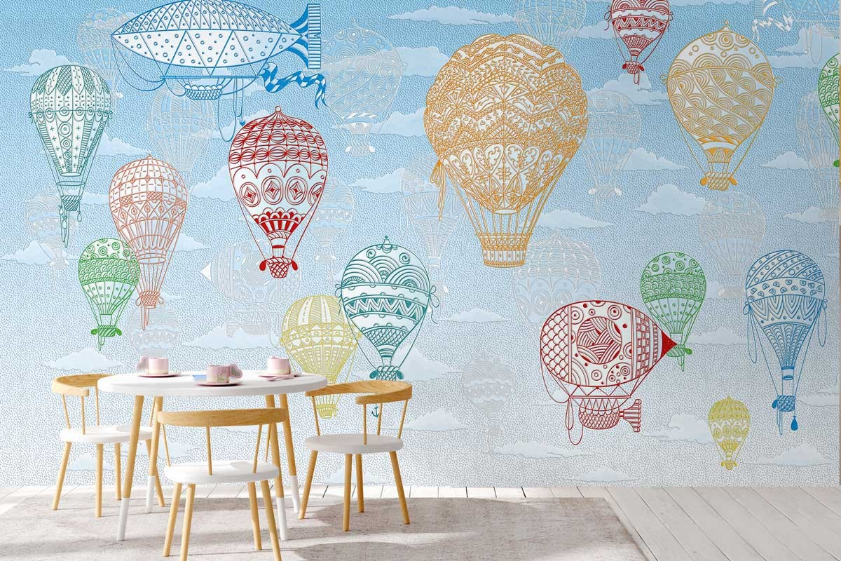 AIR BALLOONS COLORED
