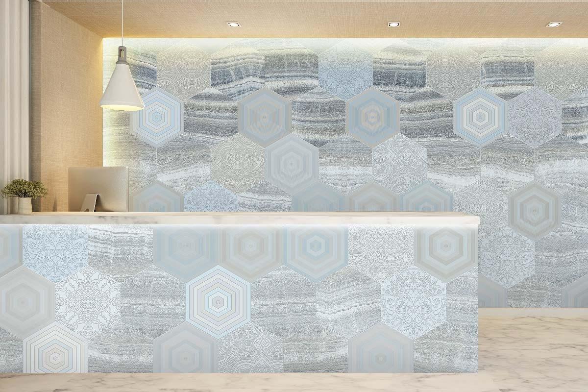 3D Ανάγλυφη ταπετσαρία ONYX COMB