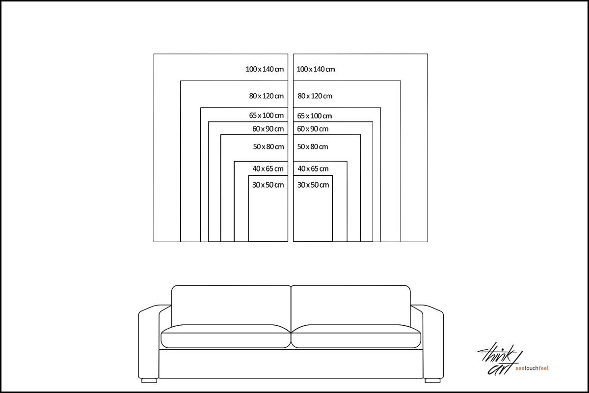 Δίπτυχος πίνακας καμβάς ΔΕΝΤΡΑ ΤΟΝ ΧΕΙΜΩΝΑ