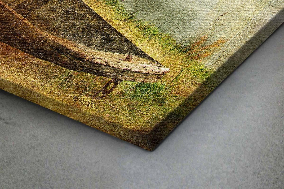 Πίνακας καμβάς ΠΑΛΙΑ ΒΑΡΚΟΥΛΑ - ΖΩΓΡΑΦΙΚΟ ΣΤΥΛ