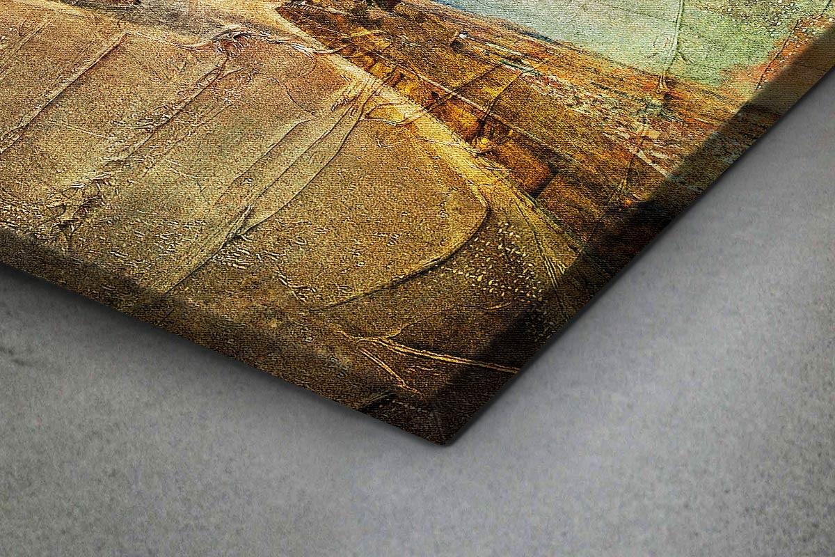 Πίνακας καμβάς ΑΝΕΜΟΜΥΛΟΙ - ΖΩΓΡΑΦΙΚΟ ΣΤΥΛ