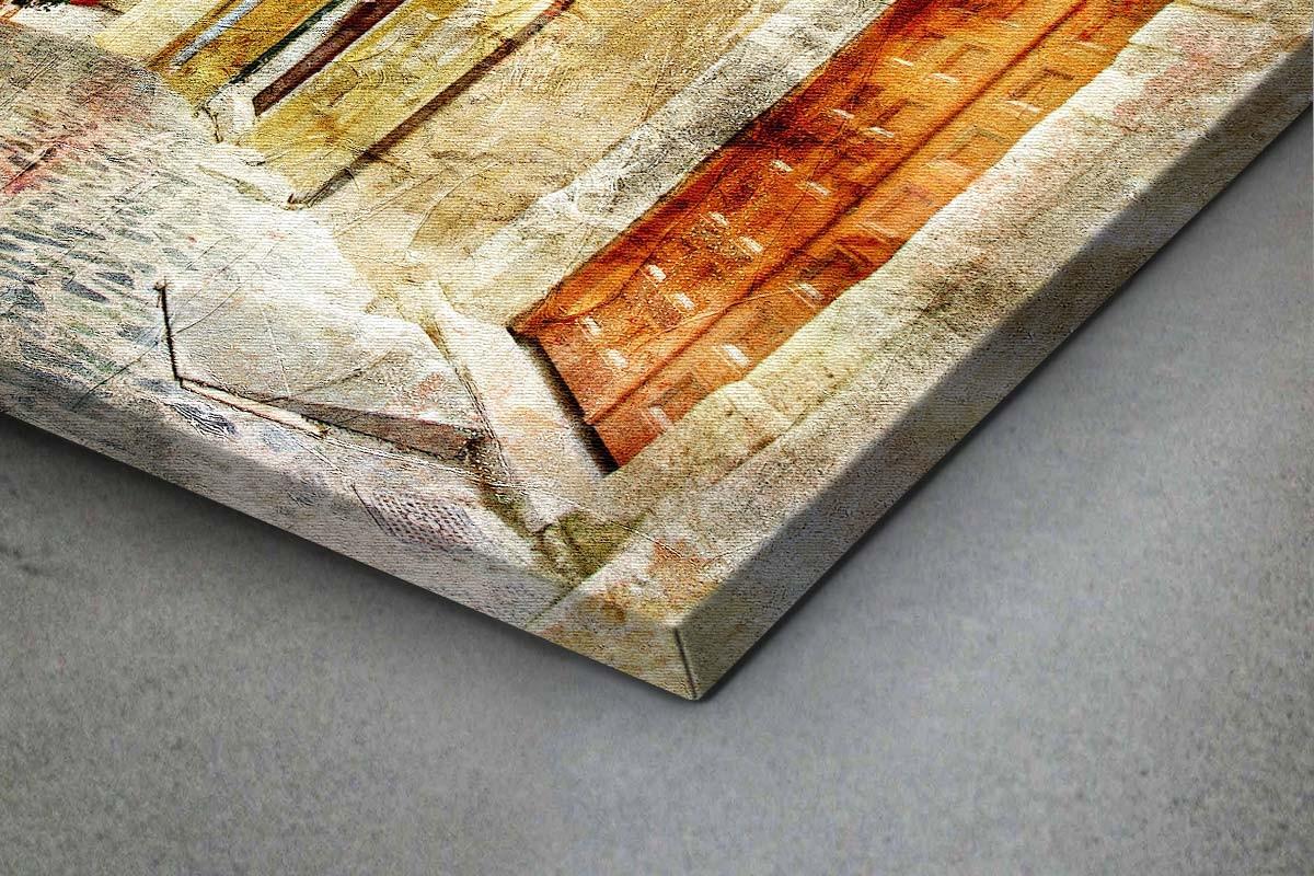 Πίνακας καμβάς ΠΑΛΙΟΣ ΕΛΛΗΝΙΚΟΣ ΔΡΟΜΟΣ