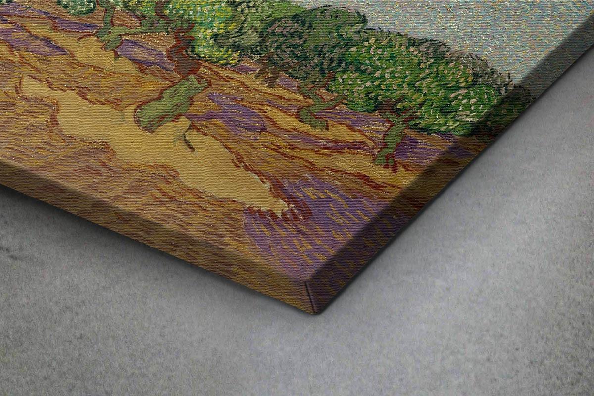 Πίνακας καμβάς OLIVE TREES - VAN GOGH