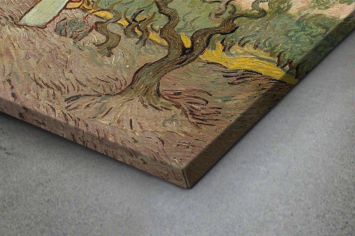Πίνακας καμβάς WOMEN PICKING OLIVES - VAN GOGH