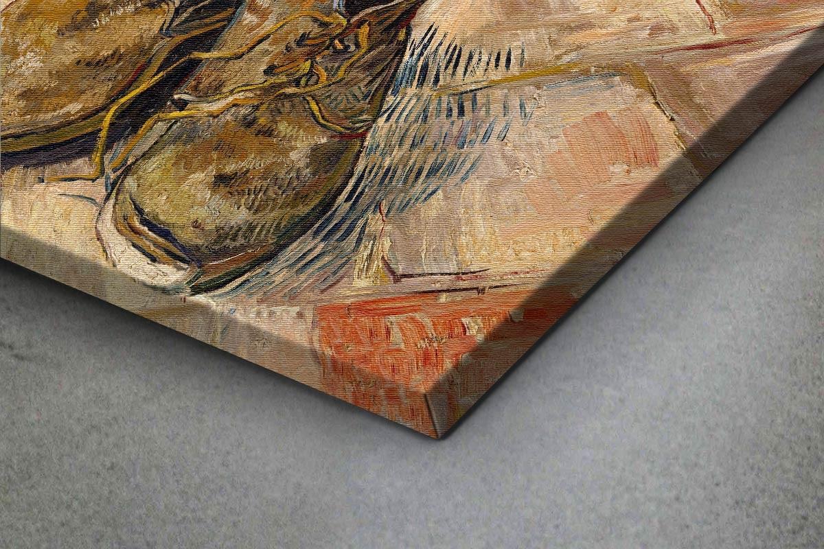 Πίνακας καμβάς SHOES - VAN GOGH