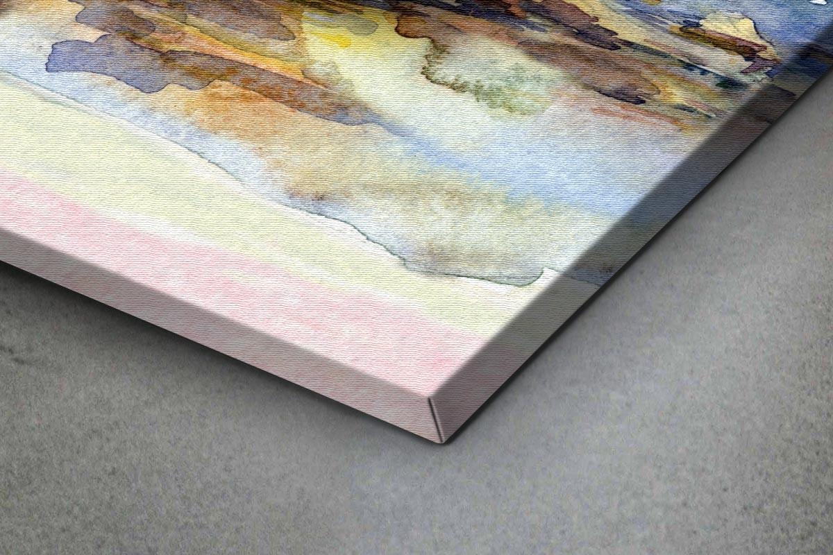 Πίνακας καμβάς ΒΡΑΧΩΔΗΣ ΘΑΛΑΣΣΑ