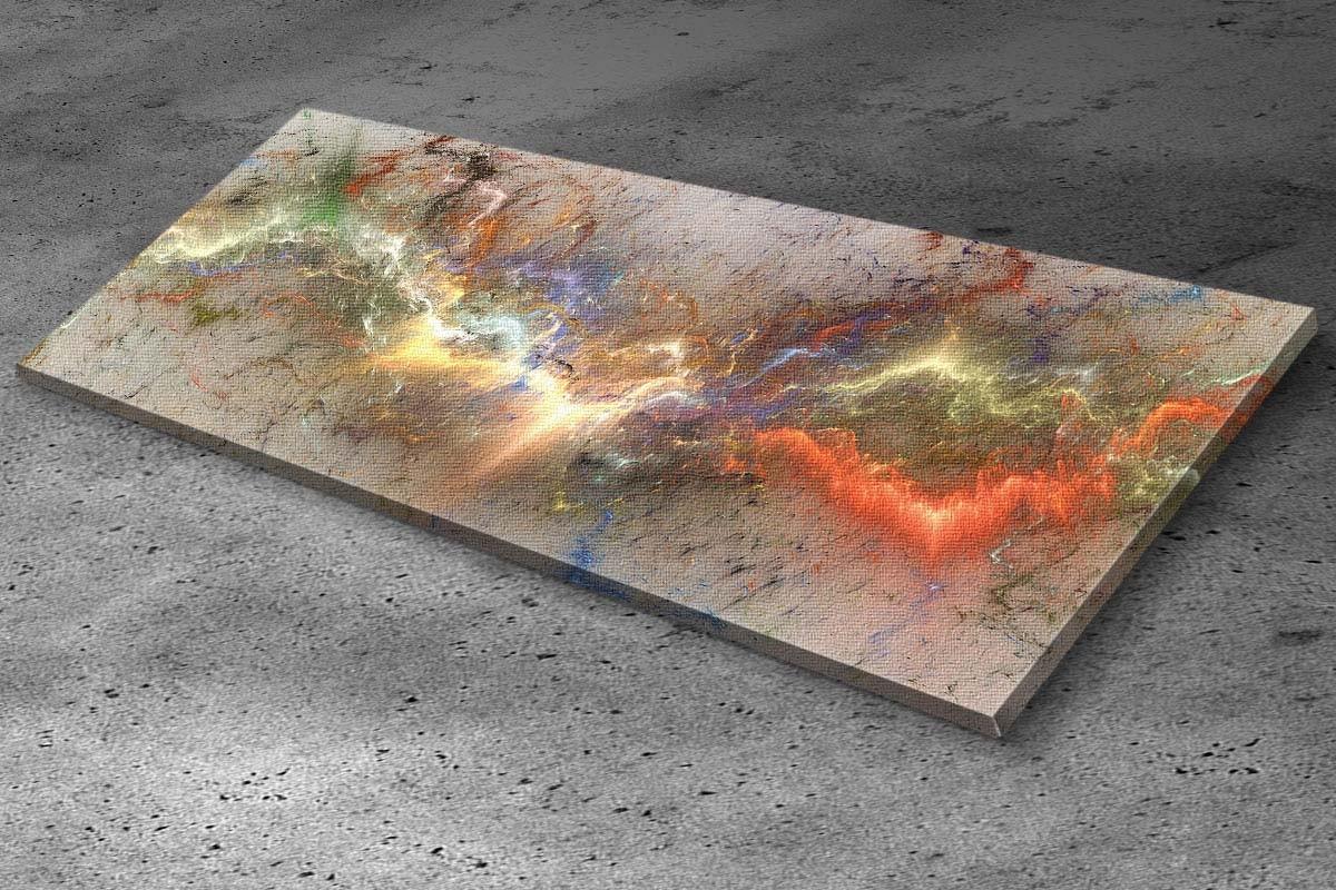 Πίνακας καμβάς ΠΟΛΥΧΡΩΜΗ ΑΣΤΡΑΠΗ
