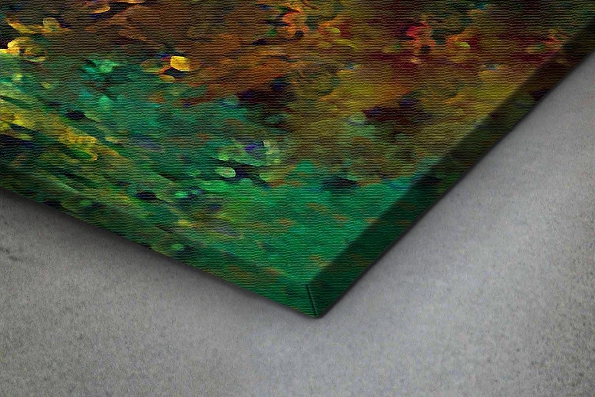 Πίνακας καμβάς ΑΙΣΘΗΣΗ ΠΡΑΣΙΝΟΥ