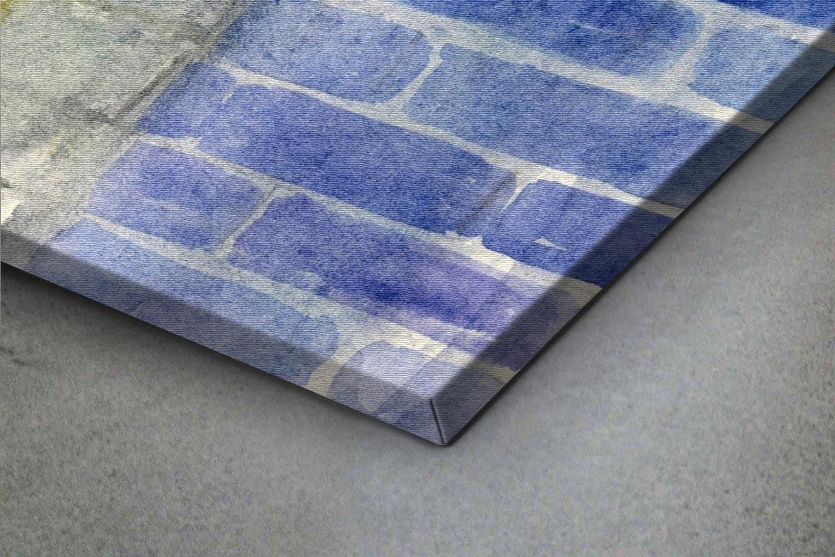Πίνακας καμβάς ΠΑΛΙΑ ΠΟΛΗ ΤΗ ΝΥΧΤΑ