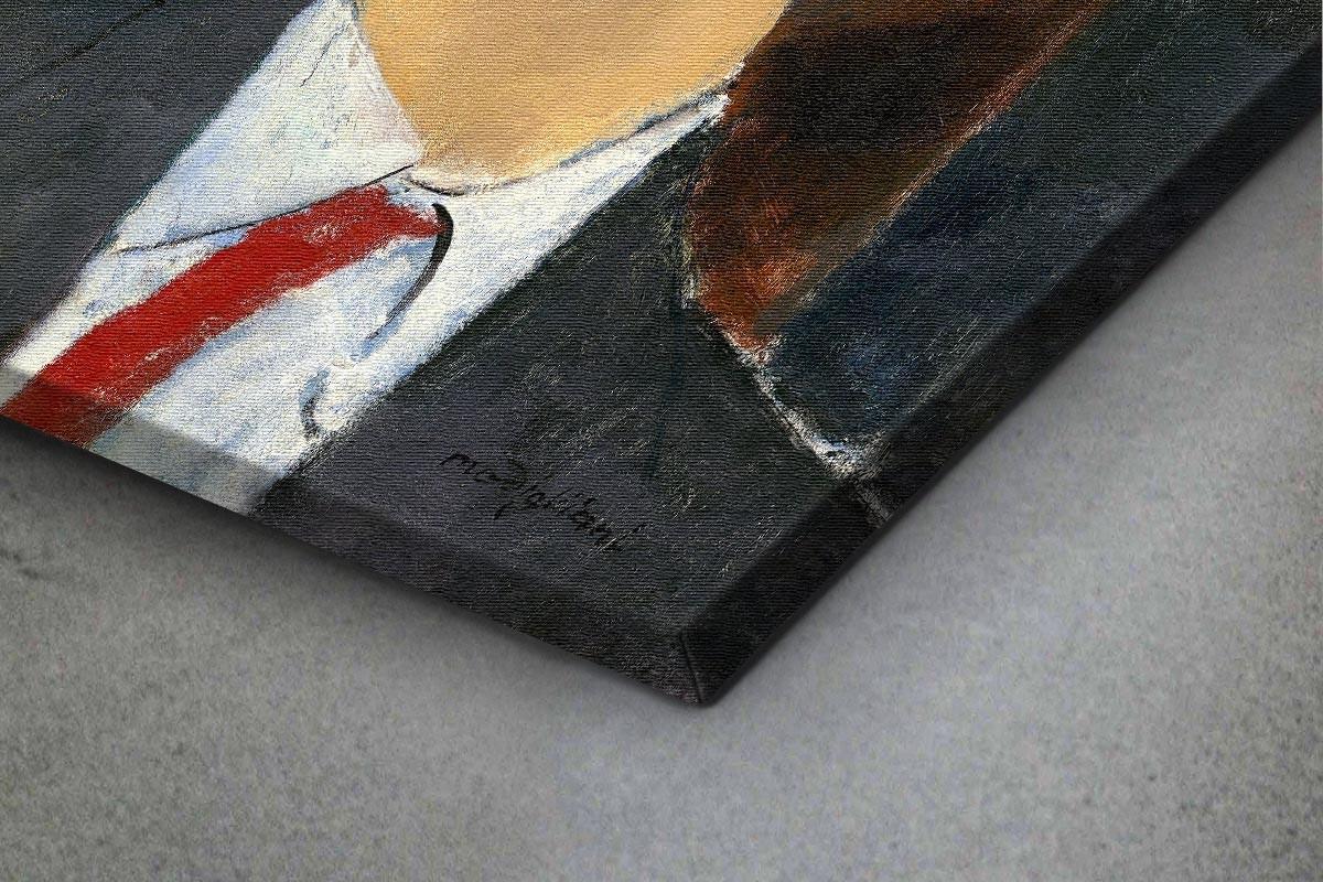 Πίνακας καμβάς MADAME KISLING - MODIGLIANI
