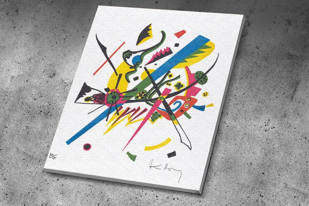 Πίνακας καμβάς  KLEINE WELTEN I - KANDINSKY