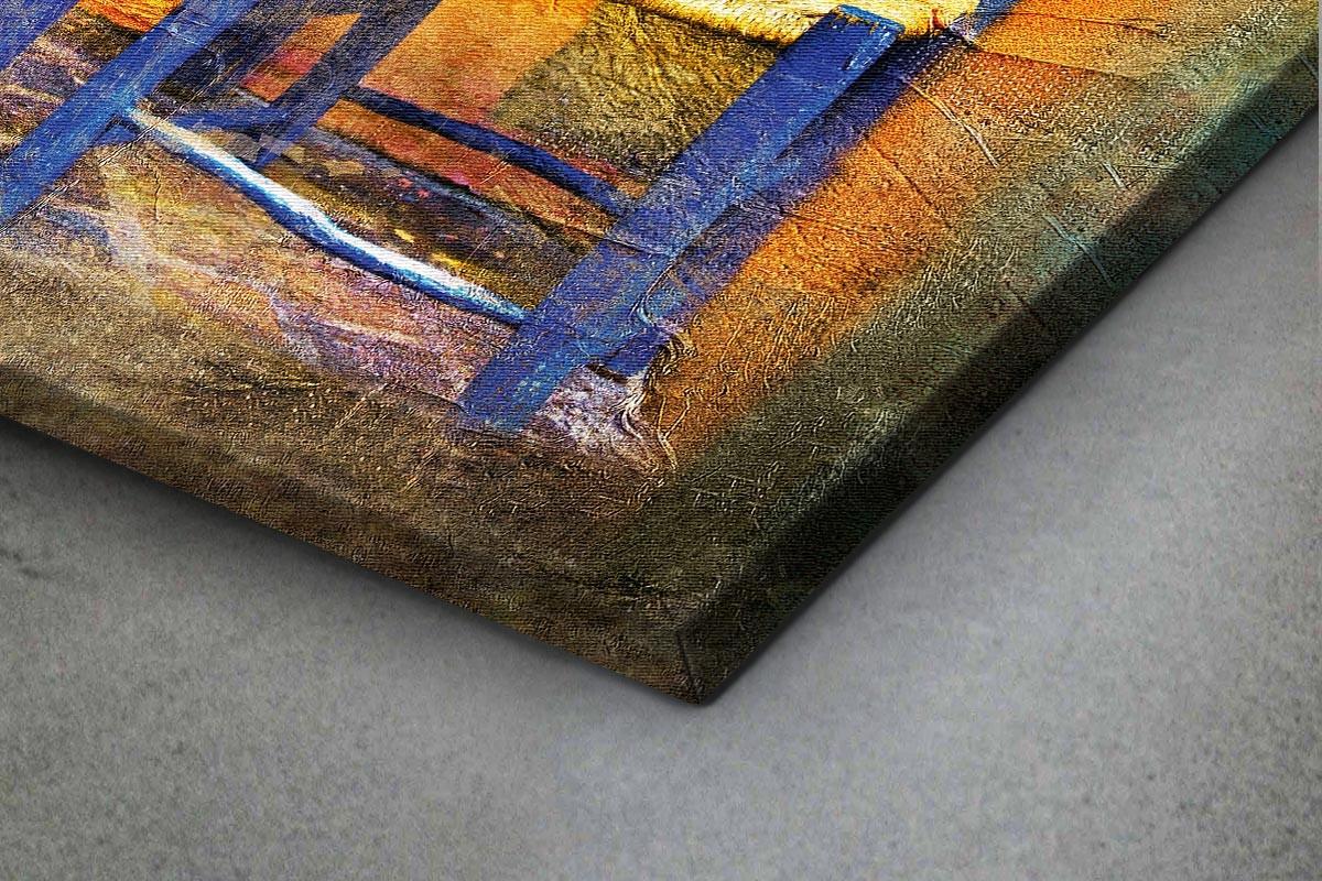 Πίνακας καμβάς ΚΑΡΕΚΛΑ ΠΑΡΑΔΟΣΙΑΚΟΥ ΚΑΦΕΝΕΙΟΥ