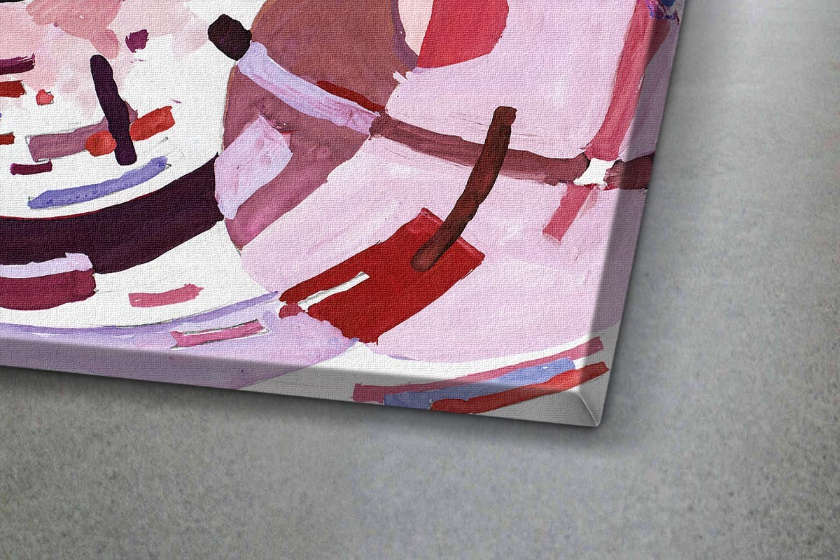 Πίνακας καμβάς ΑΦΗΡΗΜΕΝΗ ΣΥΝΘΕΣΗ - ΡΟΖ