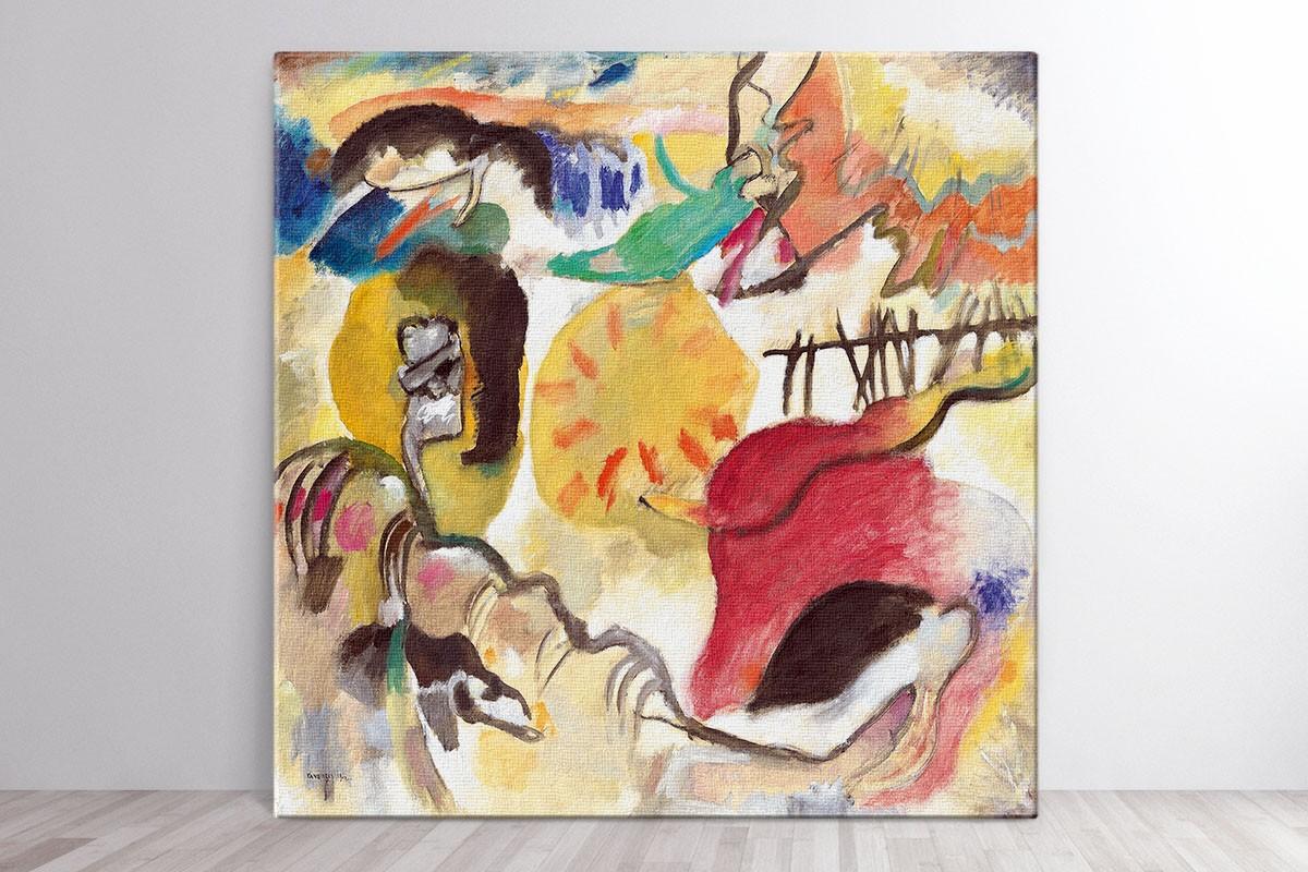 Πίνακας καμβάς IMPROVISATION 27 - KANDINSKY