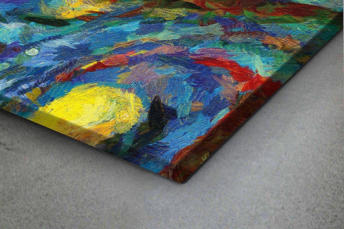 Πίνακας καμβάς ΖΩΓΡΑΦΙΑ ΕΜΠΝΕΥΣΜΕΝΗ ΑΠΟ ΤΟΝ VAN GOGH III