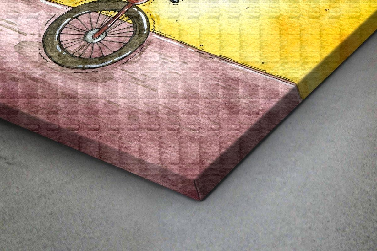 Πίνακας καμβάς ΓΑΤΑ ΑΚΡΟΒΑΤΗΣ