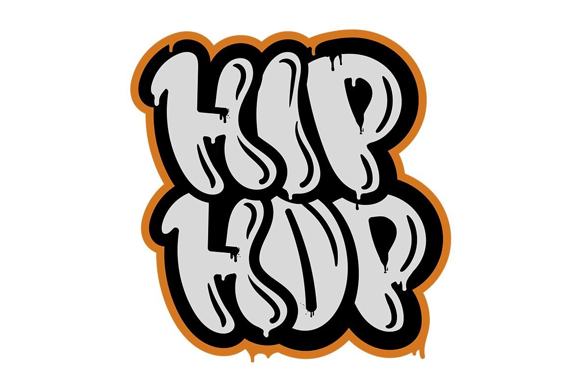 Αυτοκόλλητο τοίχου HIP HOP