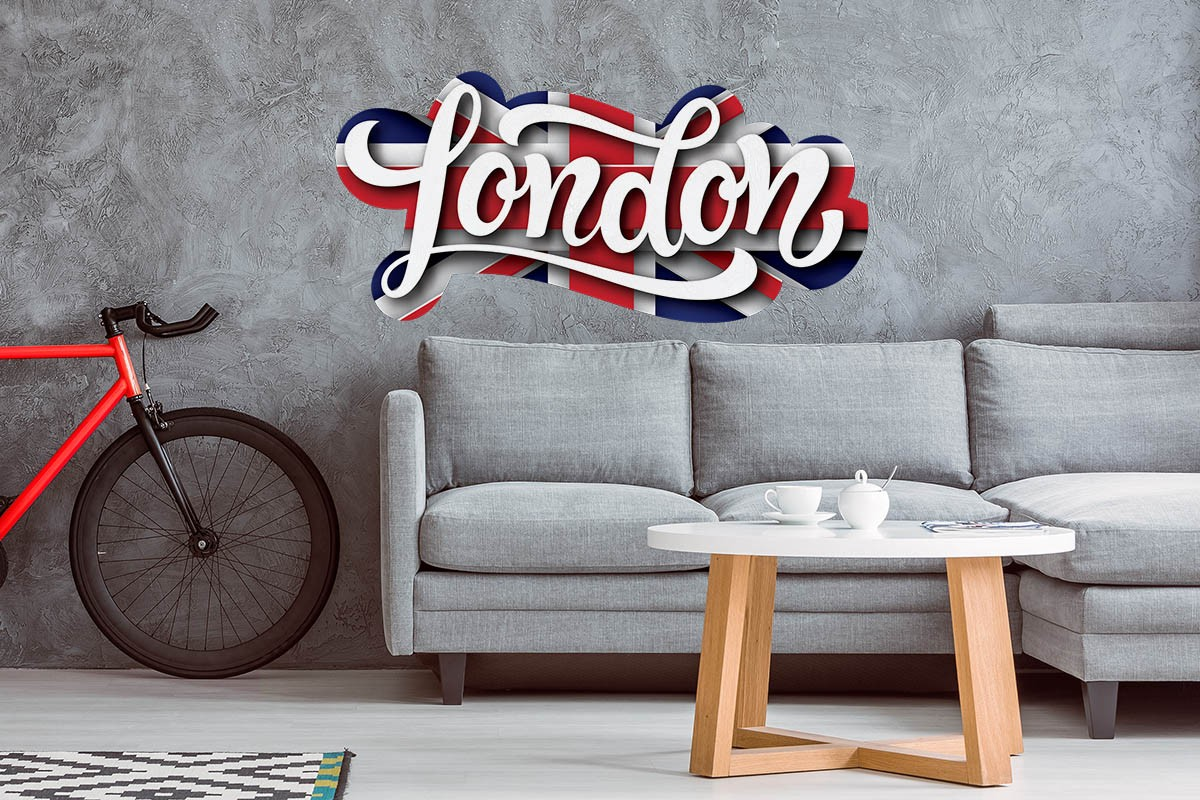 Αυτοκόλλητο τοίχου ΛΟΝΔΙΝΟ, ΑΓΓΛΙΑ