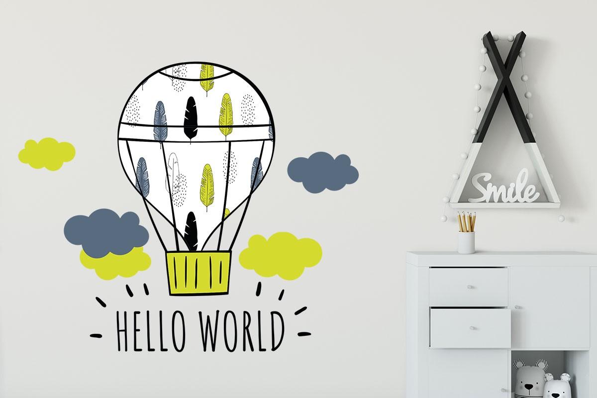 ΑΕΡΟΣΤΑΤΟ HELLO WORLD