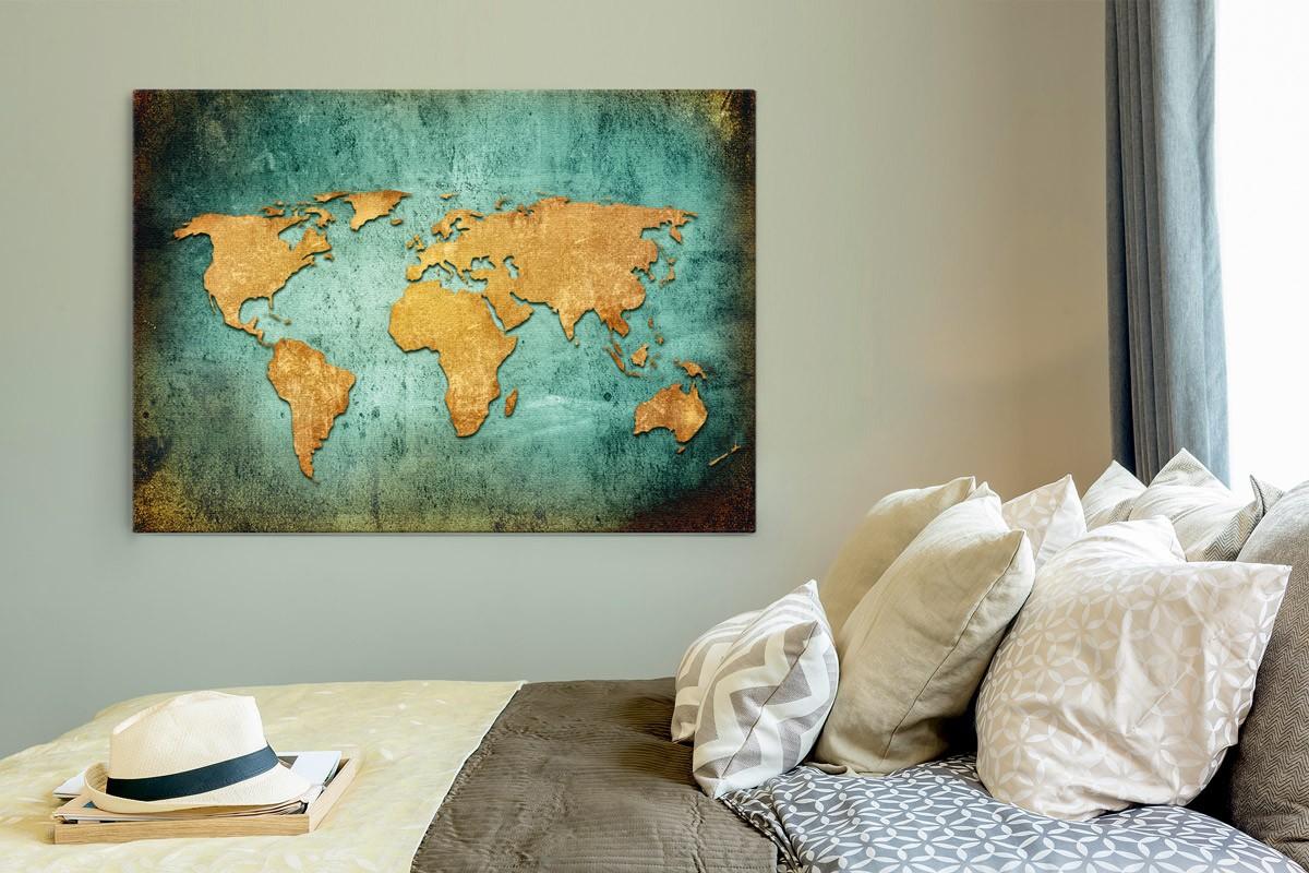 Παγκόσμιος Χάρτης - Vintage