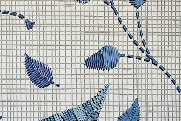 BLUE LEAVES LINEN