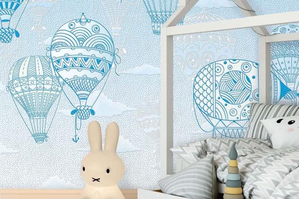 AIR BALLOONS BLUE