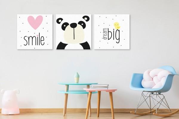 SMILE AND DREAM BIG