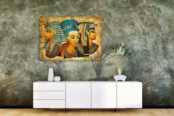 Πίνακας καμβάς ΑΡΧΑΙΟΙ ΑΙΓΥΠΤΙΟΙ ΒΑΣΙΛΙΑΔΕΣ