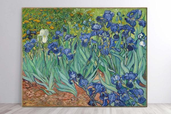 Πίνακας καμβάς ΙΡΙΔΕΣ 1889 - VINCENT VAN GOGH