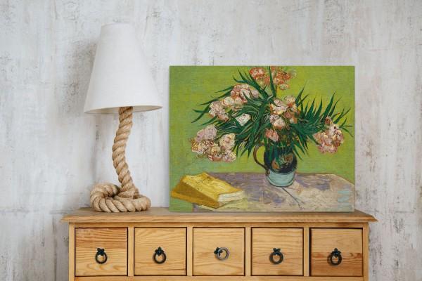 Πίνακας καμβάς OLEANDERS - VAN GOGH