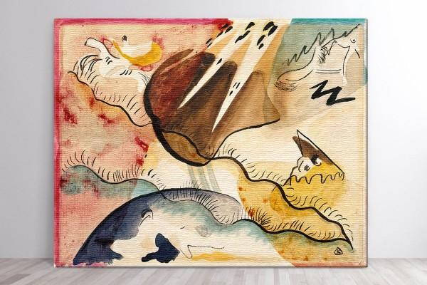 Πίνακας καμβάς RAIN LANDSCAPE - KANDINSKY