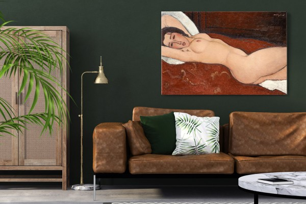 Πίνακας καμβάς RECLINING NUDE - AMADEO MODIGLIANI