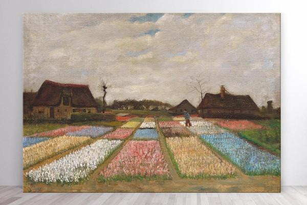 FLOWER BEDS IN HOLLAND - VAN GOGH