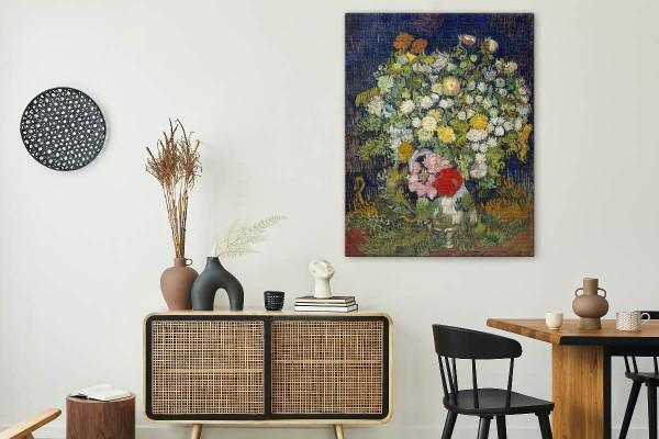 BOUQUET OF FLOWERS IN A VASE - VAN GOGH