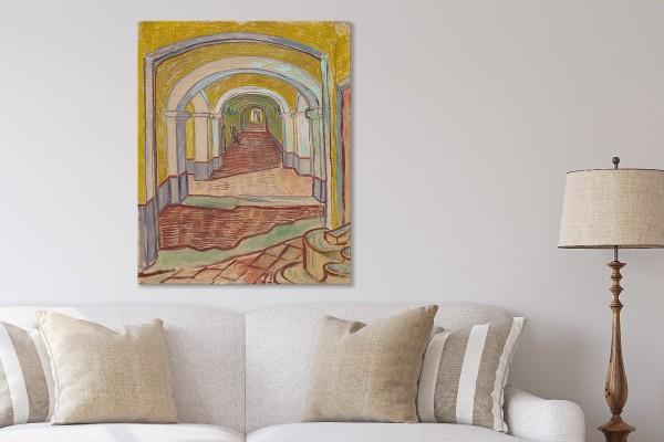 CORRIDOR IN THE ASYLUM - VAN GOGH