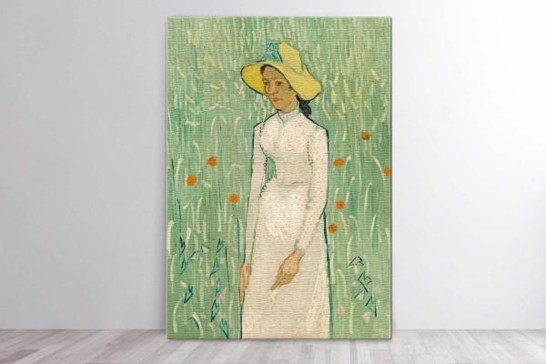 GIRL IN WHITE, 1890 - VAN GOHG