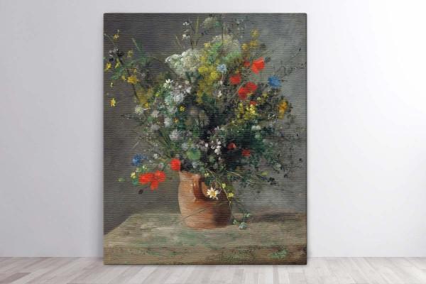 FLOWERS IN A VASE, C. 1866 - RENOIR