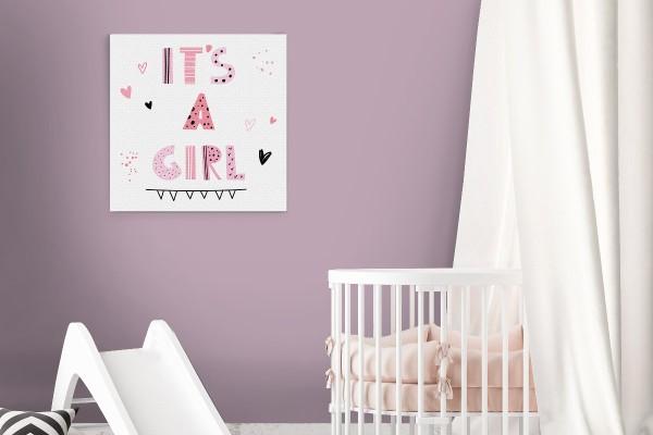 Πίνακας καμβάς IT'S A GIRL!