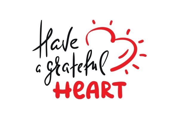 Αυτοκόλλητο τοίχου HAVE A GRATEFUL HEART