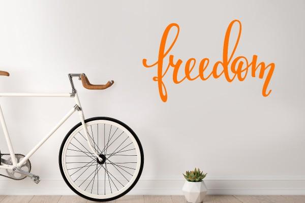 Αυτοκόλλητο τοίχου FREEDOM