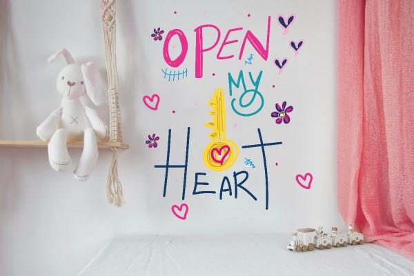 OPEN MY HEART