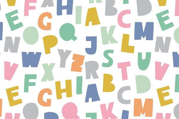 Παιδική ταπετσαρία ABC